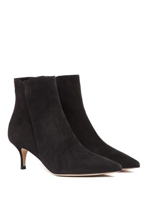 BLACK SUEDE ANKLE BOOTS FW 2019 GIANVITO ROSSI | 52 | G7386855RICBLACK