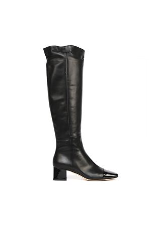 BLACK NAPPA LEATHER OVER THE KNEES BOOTS FW 2019 GIANVITO ROSSI | 52 | G8056845RICVENNENE
