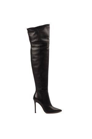 BLACK LEATHER BOOTS FW 2019 GIANVITO ROSSI | 52 | G8069815RICBLACK