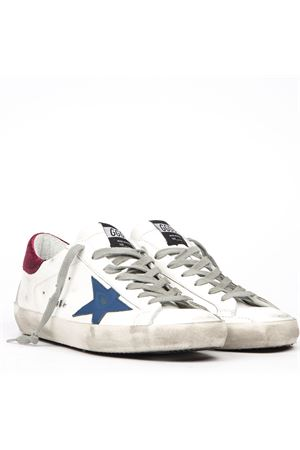 SUPER STAR VINTAGE LEATHER SNEAKER FW 2019 GOLDEN GOOSE DELUXE BRAND   55   G35MS5901O91