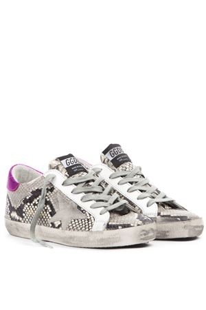 SNEAKERS SUPERSTAR IN PELLE CON STAMPA SERPENTE AI 2019 GOLDEN GOOSE DELUXE BRAND | 55 | G35WS5901P41