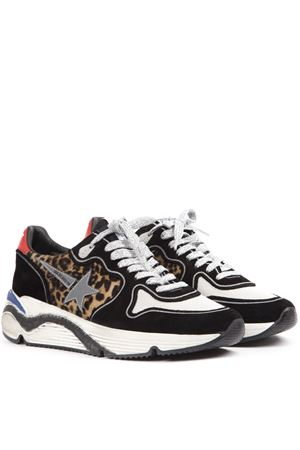 27fafaabfeb5 ... LEOPARD PRINTED RUNNING SNEAKERS IN SUEDE AND MESH FW 2019 GOLDEN GOOSE  DELUXE BRAND | 55