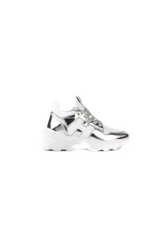 INTERACTION SILVER & WHITE SNEAKERS FW 2019 HOGAN CAPSULE | 55 | GYW4870CH20MSX0351