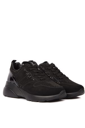 SNEAKER ACTIVE ONE NERA IN PELLE AI 2019 HOGAN | 55 | HXW3850CE80MXUB999