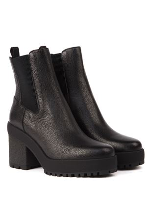 H475 BLACK LEATHER ANKLE BOOT FW 2019 HOGAN | 52 | HXW4750BZ70LF7B999