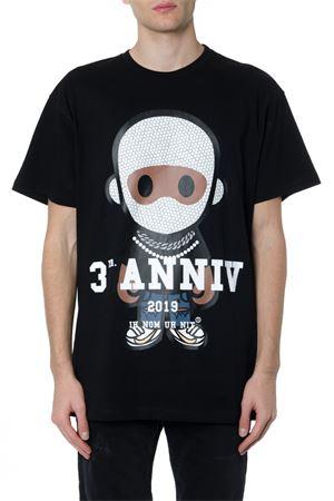 BLACK COTTON PRINTED T-SHIRT FW 2019 IH NOM UH NIT | 15 | NUW192521009