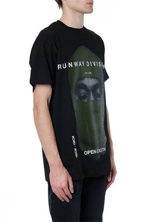 BLACK RUNWAY COTTON T-SHIRT FW 2019 IH NOM UH NIT | 15 | NUW192821009