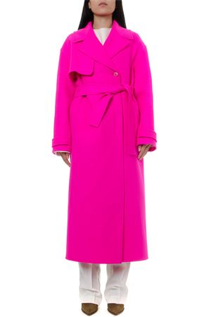 PINK VIRGIN WOOL SABE TRENCH COAT FW 2019 JACQUEMUS | 31 | 193CO04-19319460PINK