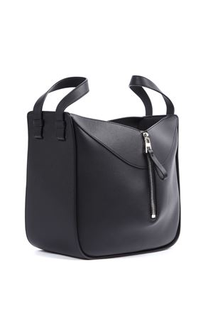 BLACK LEATHER SMALL HAMMOCK BAG FW 2019 LOEWE   2   38730S3511100