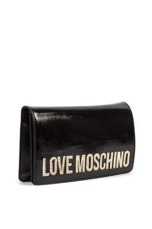 BORSA A TRACOLLA NERA CON LOGO AI 2019 LOVE MOSCHINO | 2 | JC4040PP18LD0UNI000