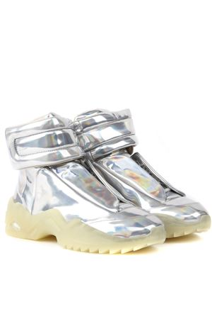 SNEAKERS HIGH-TOP FUTURE METALLIZZATE AI 2019 MAISON MARGIELA | 55 | S37WS0492P2120H5807