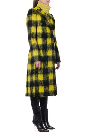 YELLOW & BLACK MERINO WOOL COAT FW 2019 MAISON MARGIELA | 31 | S51AA0220S52143001F