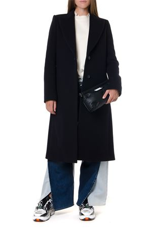 BLACK WOOL LONG-MEDIUM CUT COAT FW 2019 MAISON MARGIELA | 31 | S51AA0220S52146511