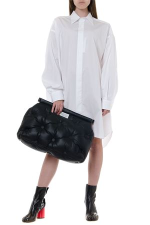 WHITE COTTON OVERSIZED LONGLINE SHIRT FW 2019 MAISON MARGIELA | 9 | S51DL0293S44720100