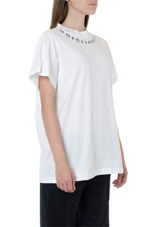 T SHIRT BIANCA IN COTONE CON STAMPA AI 2019 MAISON MARGIELA | 15 | S51GC0449S22816100
