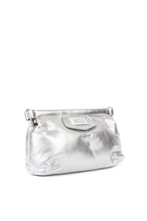 GLAM SLAM SILVER QUILTED LEATHER CROSSBODY BAG FW 2019 MAISON MARGIELA | 2 | S56WF0097PR200T9002
