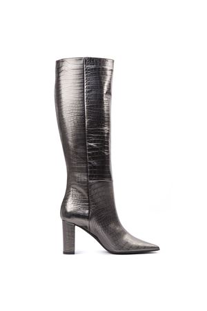 LEAD COLOR SCALED LEATHER BOOTS FW 2019 MARC ELLIS | 52 | MA78COCCOPIOMBO