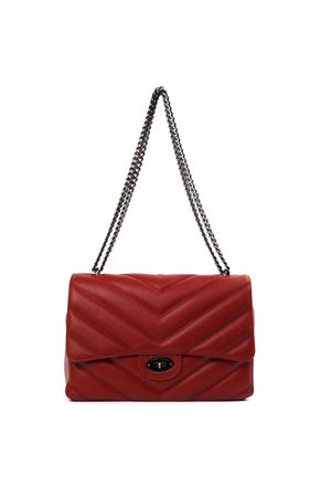 LUNI RED QUILTED LEATHER BAG FW 2019 MARC ELLIS | 2 | MEB-101LUNIRED