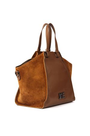 LIGHT BROWN LEATHER TOTE FW 2019 MARC ELLIS | 2 | MEB-139UNICUOIO