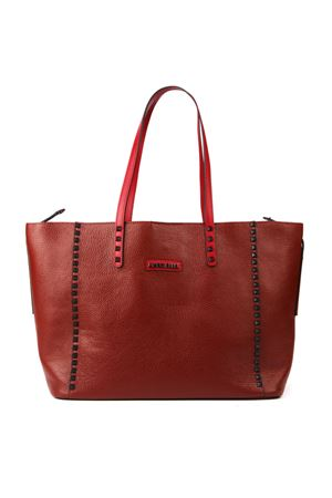 RED LEATHER TOTE FW 2019 MARC ELLIS | 2 | MEB-153UNIRED