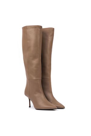 TAUPE LEATHER BOOTS FW 2019 MARC ELLIS | 52 | SG114NAPPATAUPE