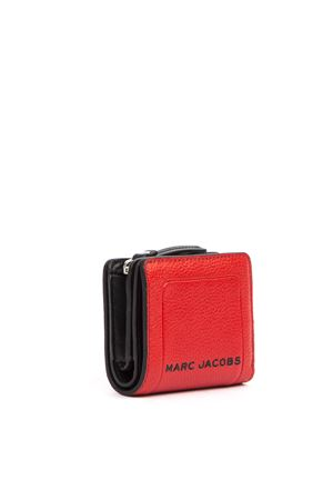 MINI COMPACT RED LEATHER WALLET FW 2019 MARC JACOBS | 34 | M00151071612