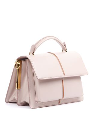 PINK LEATHER ATTACHE