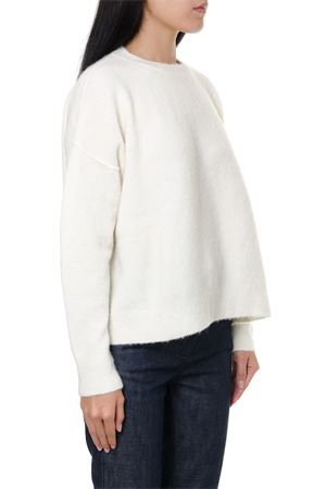 WHITE MOHAIR TURTLENECK RIBBED SWEATER FW 2019 MARNI | 16 | GCMD0118Q0FP60200W02