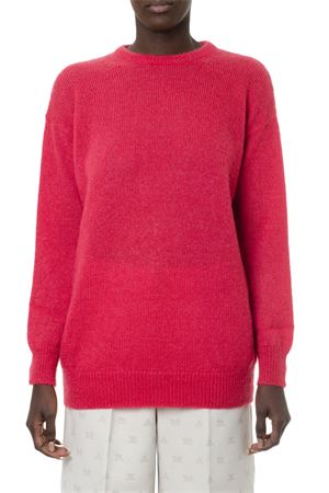 RED MOHAIR-WOOL BLEND SWEATER FW 2019 MAX MARA | 16 | RELAX099004