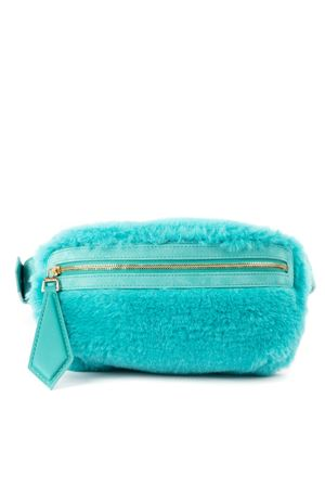 TEDDY BELTBAG IN ALPACA WOOL AND SILK TURQUOISE COLOR FW 2019 MAX MARA | 2 | TEDDY1501007