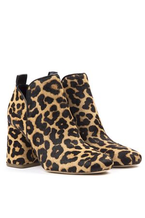 ANIMAL LEATHER SUEDE ANKLE BOOT FW 2019 MICHAEL MICHAEL KORS | 87 | 40T9DXHE5HUNI270