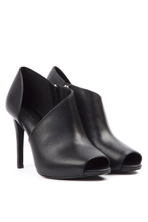 BLACK LEATHER ANKLE BOOT FW 2019 MICHAEL MICHAEL KORS | 87 | 40T9ELHE5LUNI001