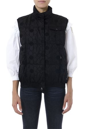 SIMONE ROCHA BLACK SLEEVELESS DOWN JACKET FW 2019 MONCLER GENIUS | 28 | 4831100C0335SASH999