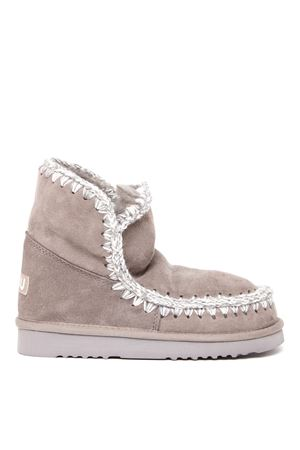 ESKIMO 18 TAUPE COLOR SUEDE ANKLE BOOT FW 2019 MOU   52   MU.FW101001AESKIMO 18NGRE