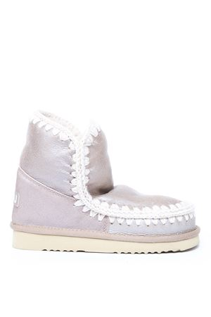 ESKIMO 18 METAL PINK LEATHER ANKLE BOOTS FW 2019 MOU   52   MU.FW101001BESKIMO 18STME