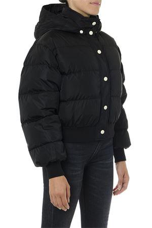 BLACK PUFFER JACKET WITH LOGO FW 2019 MSGM | 27 | 2741MDH16X19575299