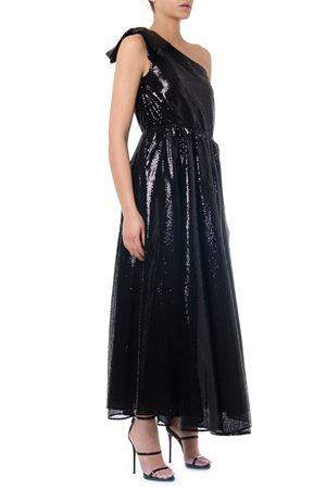 BLACK ONE SHOULDER LONG DRESS FW 2019 MSGM | 21 | 2743MDA2419570299