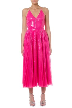 PINK SEQUINS DRESS FW 2019 MSGM | 21 | 2743MDA25P19570212