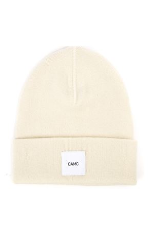 WHITE WOOL HAT WITH LOGO PATCH FW 2019 OAMC | 17 | 759967OPY10001122
