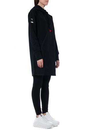 BLACK HOODIE DRESS X KARL FW 2019 PUMA SELECT | 32 | 595571011BLACK