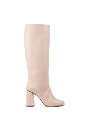 NUDE LEATHER BOOTS FW 2019 RED VALENTINO | 52 | SQ0S0B43PIQUNITD0