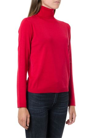 RED HIGH COLLAR WOOL-CASHMERE BLEND JUMPER fw 2019 RED VALENTINO | 16 | SR0KC03R4A7UNIL58