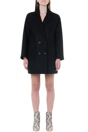 WOOL-CASHMERE BLEND OVERSIZED DOUBLE BREASTED COAT FW 2019 RED VALENTINO | 31 | SR3CAA80497UNI0NO