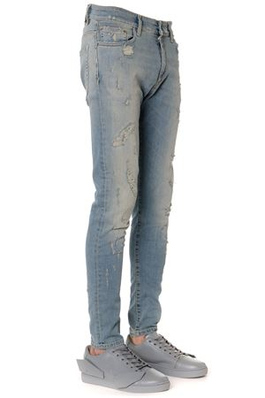LIGHT DENIM COTTON WASHED & WORN OUT JEANS FW 2019 REPRESENT | 4 | M070121PALE