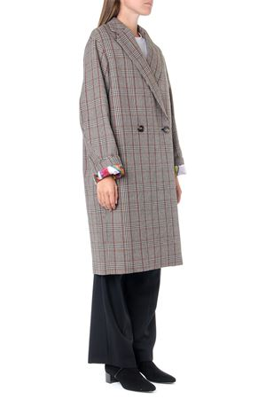 PRINCE OF WALES WOOL DOUBLE-BREASTED COAT FW 2019 STELLA McCARTNEY | 31 | 579746SNB811000