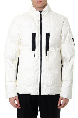 LASERED POLY-HIDE 2L FABRIC FULL-ZIP DOWN JACKET FW 2019 STONE ISLAND SHADOW PROJECT | 27 | 7119405041V0099