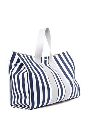 WHITE & BLUE COTTON STRIPED BAG FW 2019 SUNNEI | 2 | PB031STRP