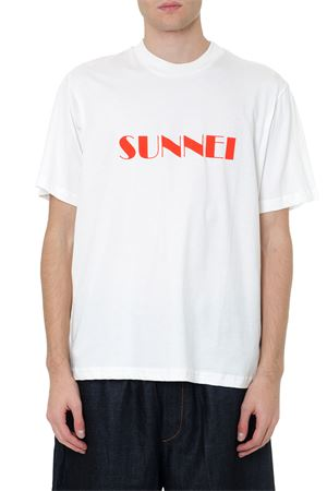 T-SHIRT OVER SUNNEI BIANCA IN COTONE AI 2019 SUNNEI | 15 | T021WHITE