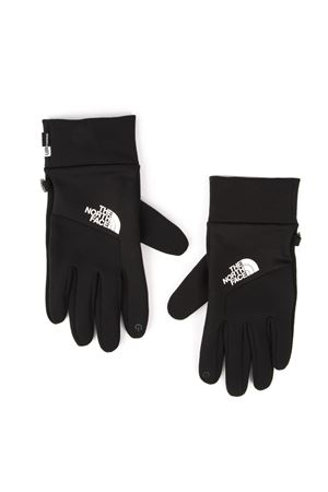 BLACK GLOVES WITH EMBROIDERED LOGO FW 2019 THE NORTH FACE | 110000028 | T93KPNKY4UNIBLK/TNF
