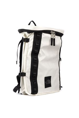 WHITE NYLON BACKPACK WITH LOGO FW 2019 THE NORTH FACE | 183 | T93S84FM8UNITNFB